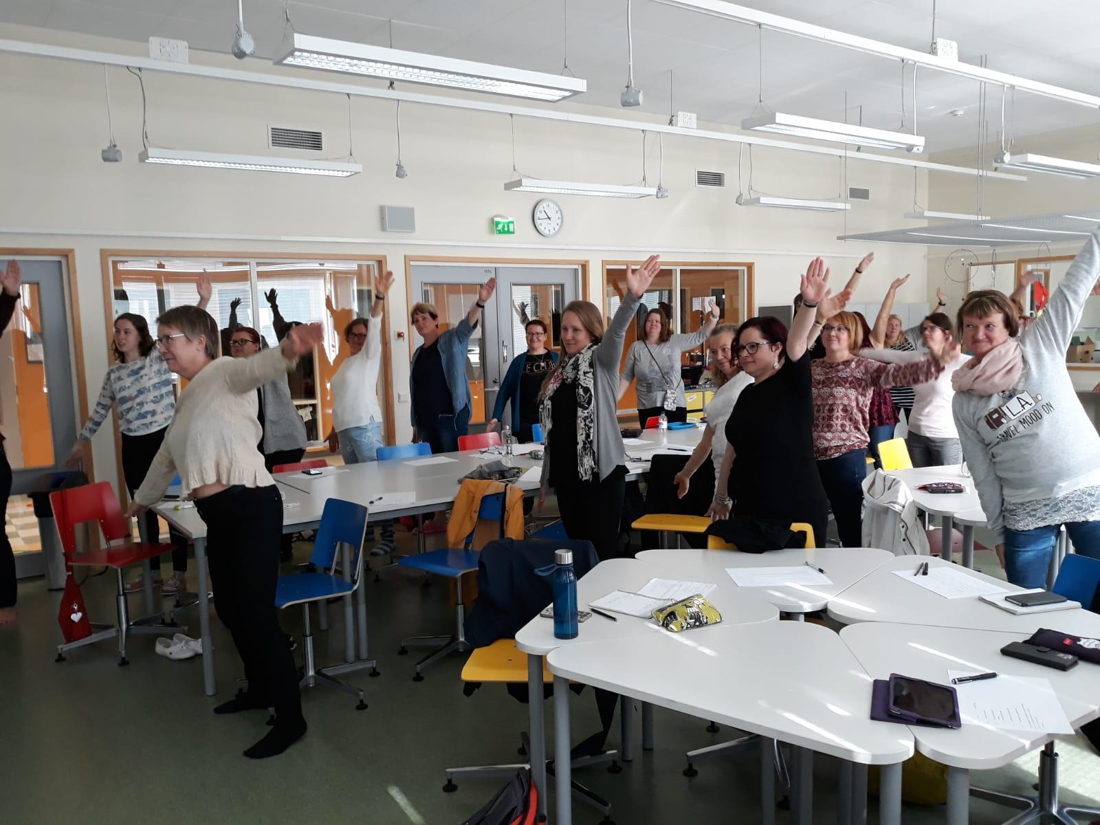 Breikkeri Junior starttasi Lappeenrannan varhaiskasvatuksessa